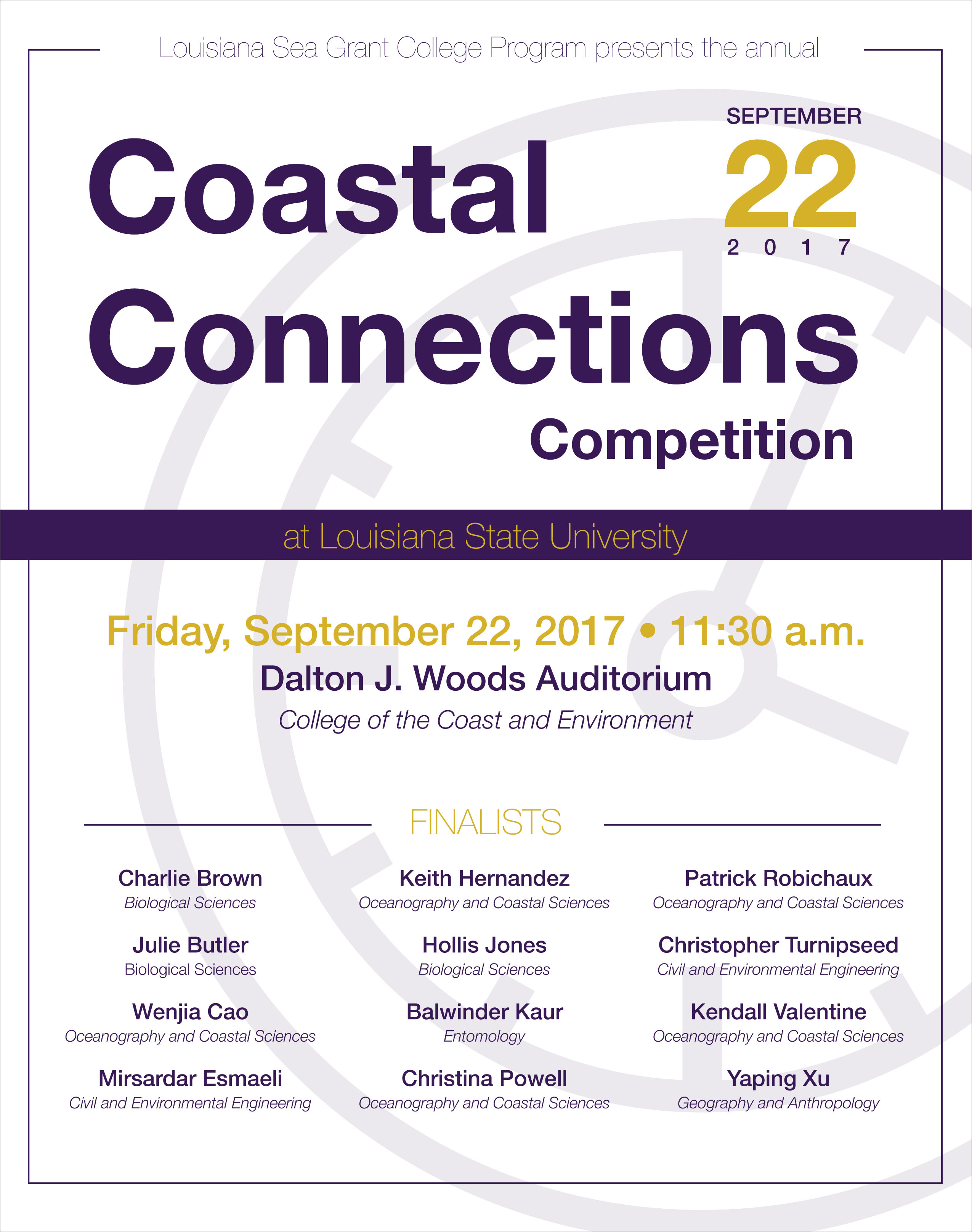 Image: Coastal Connections flyer.