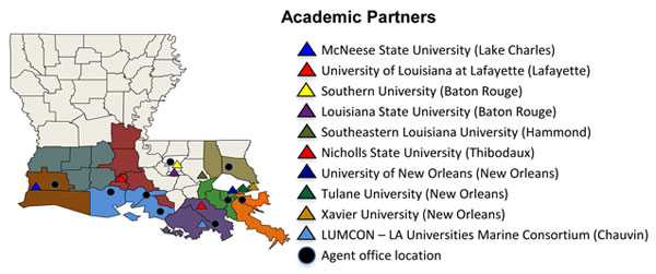 Academic Partners Map