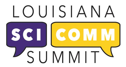 Louisiana SciComm Summit logo